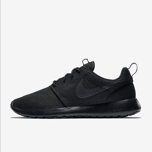 Nike Roshe Run Triple Black Men's Shoes